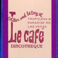 Le Cafe Playing Cards