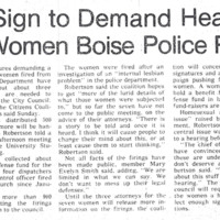 Article - 7 lesbian officers fired
