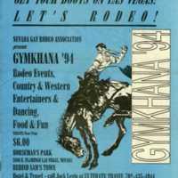Nevada Gay Rodeo Gymkhana, 1994