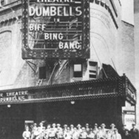 1921 Dumbells troupeAmbassador Theatre, NY, during %22Biff, Bing, Bang%22, 1921. Dept. of National Defence:Library and Archives Canada..jpg