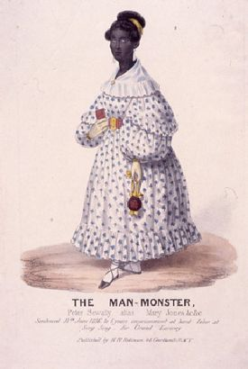 "Mary Jones, ""Man Monster""."